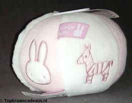 Pluchen bal roze - Nijntje Tiamo