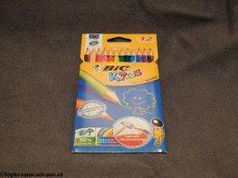 Kleurpotloden (12 kleuren) - BIC