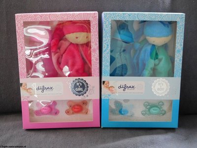 Giftset boy / girl - Difrax